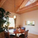 木の家室内
