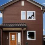 手作り感溢れる暖かな雰囲気の北欧の家