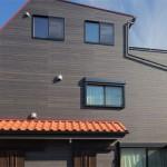 限られた土地を有効活用した3階建て2世帯住宅