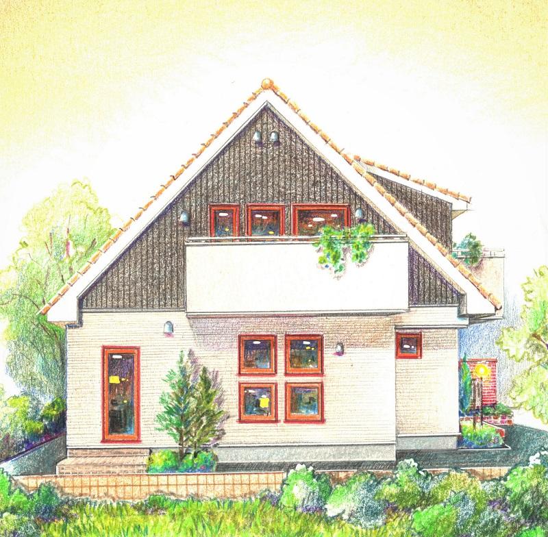 北欧の家_デザイン